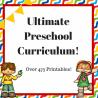 Ultimate Preschool Curriculum Only $9! (55% Off!)