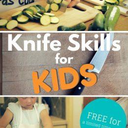 Free Knife Skills Lessons for Kids