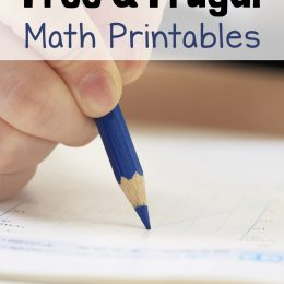 How to Homeschool for Free and Frugal: Elementary Math Printables