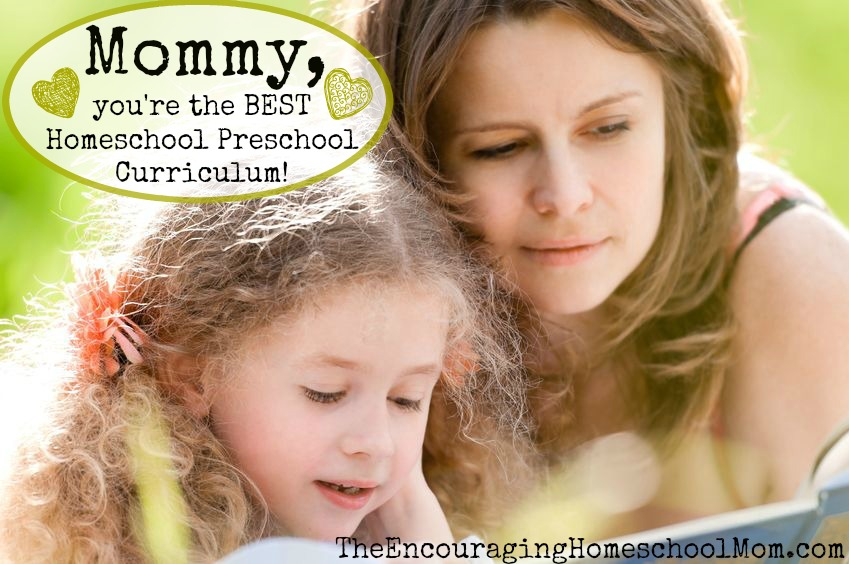 Mommy You're the Best Homeschool Preschool Curriculum