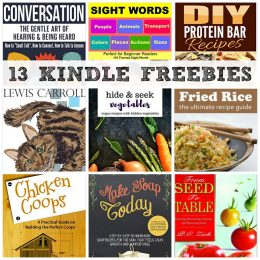 13 KINDLE FREEBIES: From Seed to Table, Alice's Adventures in Wonderland + More!