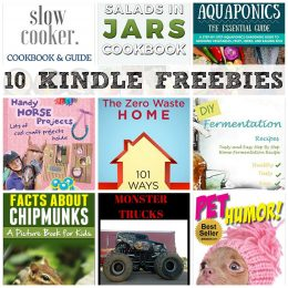10 KINDLE FREEBIES: The Zero Waste Home, Ultimate Pressure Cooker + More!