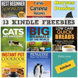 13 KINDLE FREEBIES: Enjoy your Kitchen, Big Mammals Of The World + More!