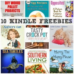 10 KINDLE FREEBIES: Tasty Crock Pot, Southern Living, DIY Wood Pallet Projects + More!