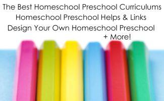The MEGA List of Homeschooling Preschool Resources!