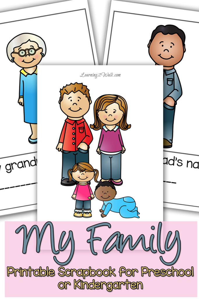 Nifty image regarding family printables