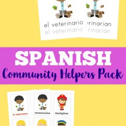 FREE Community Helpers Pack in Spanish and English