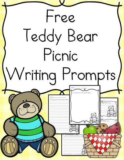 Teddy bears free coloring pages on art coloring pages - Free Teddy Bear Picnic Writing Prompts Printables Free