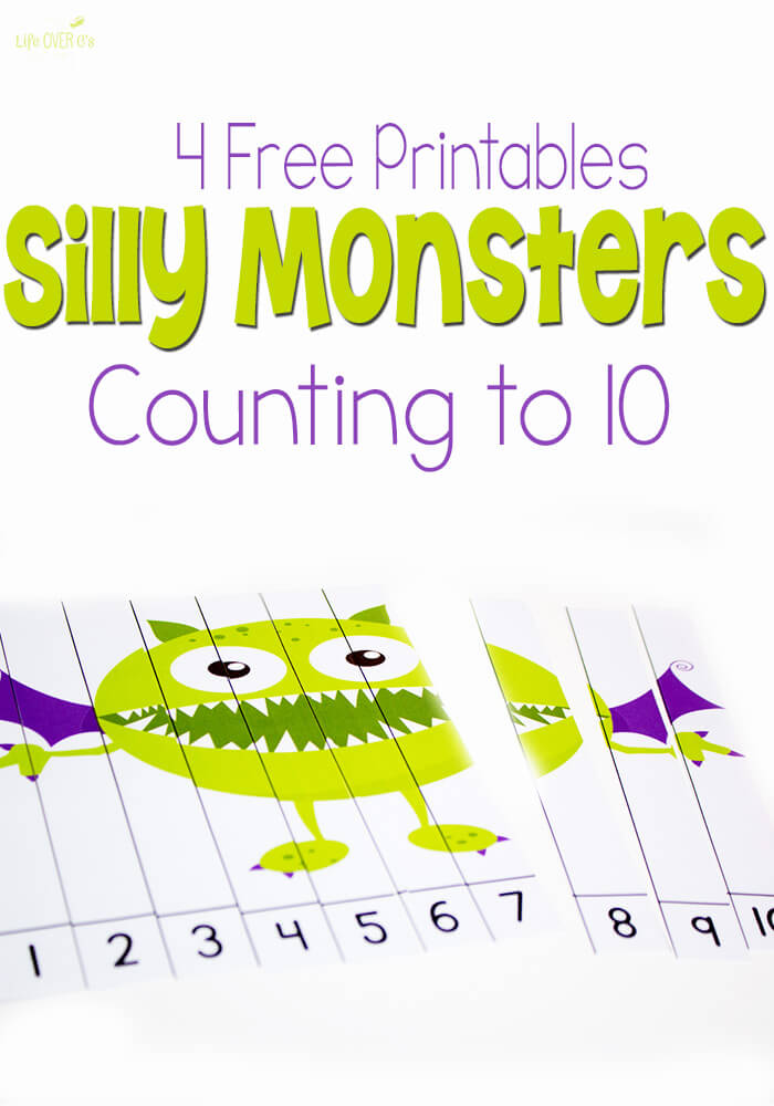 Free Silly Monsters Count To 10 Free Homeschool Deals