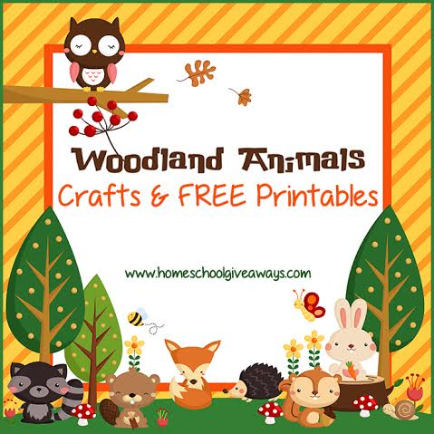 woodland animals coloring book free woodland animals crafts and printables free