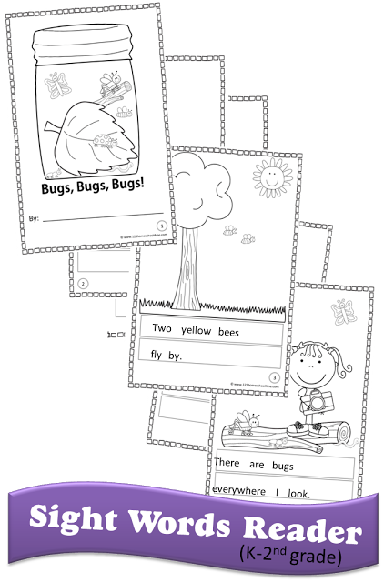 Free printable 1st grade sight word worksheets