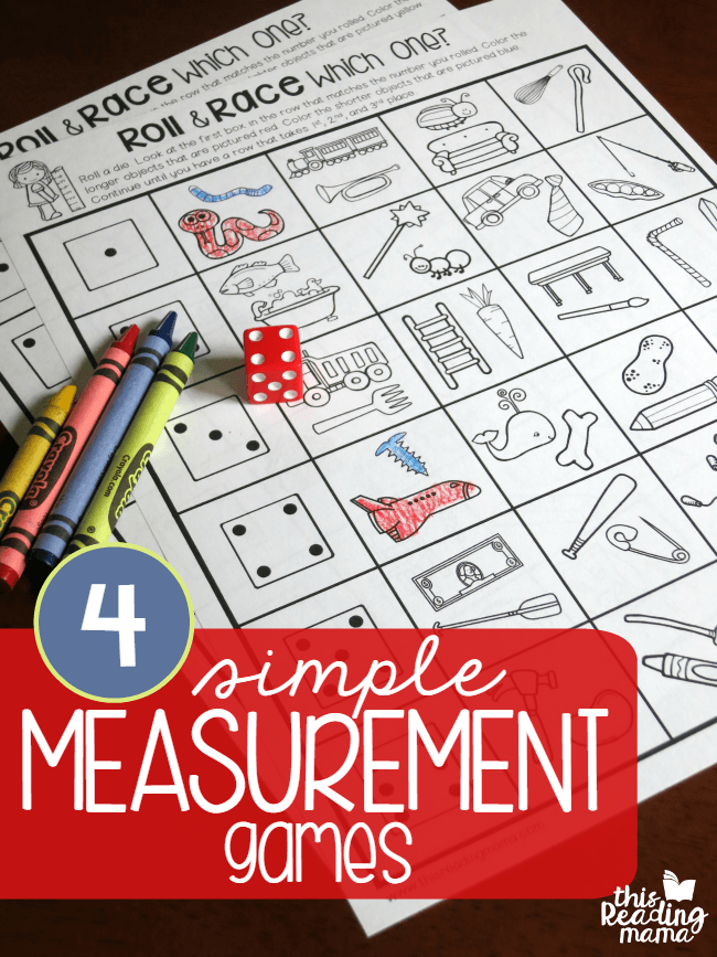 Amazing image intended for printable measurement games