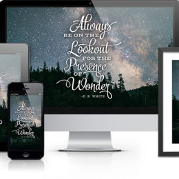 FREE Monthly Encouragement Downloads