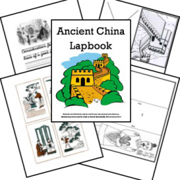 FREE Ancient China Lapbook