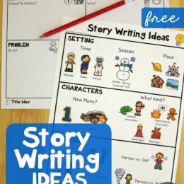 FREE Story Writing Printables