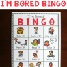 FREE I'm Bored Bingo Pack