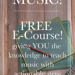 FREE Music eCourse