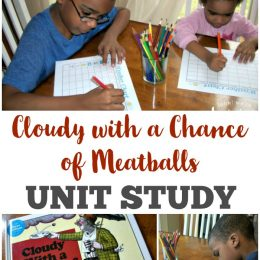 FREE Cloudy with a Chance of Meatballs Unit Study