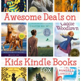 Awesome Deals on Kids Kindle Books – $4 & Under!