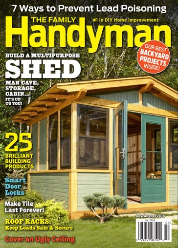 The Family Handyman Magazine Only $6.99/Year!