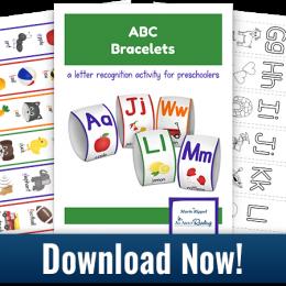 Free Alphabet Printable Bracelets