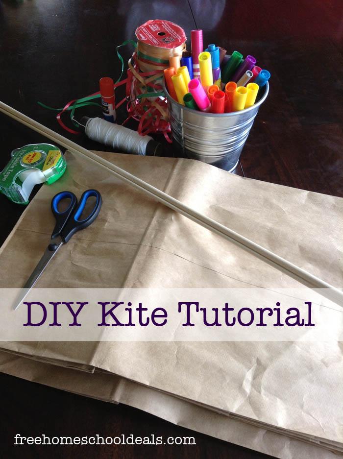 DIY Kite Tutorial