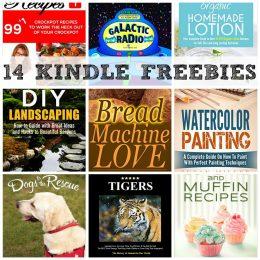 14 KINDLE FREEBIES: Bread Machine Love, Organic Homemade Lotion + More!