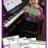 FREE Piano Practice Printables Chart