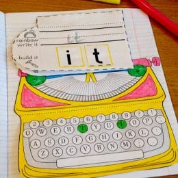 FREE Typewriter Activity Notebook