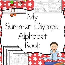 FREE Summer Olympics Alphabet Book