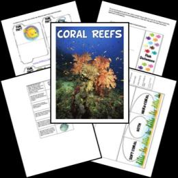 FREE Coral Reefs Lapbook