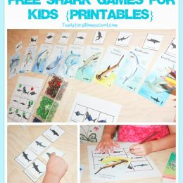 FREE Shark Game Printables