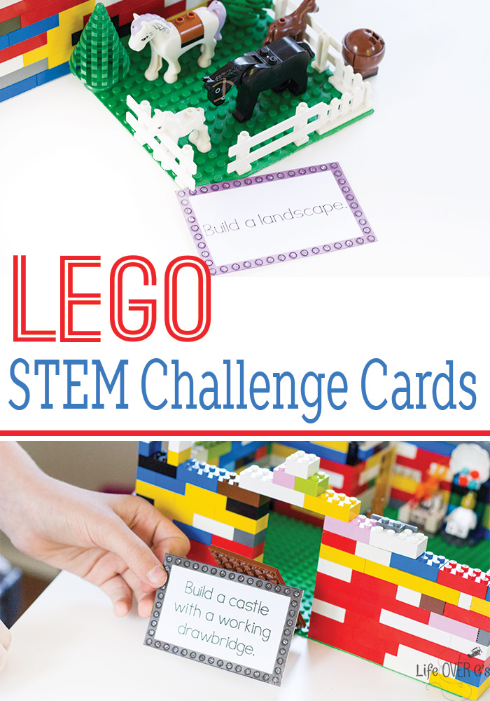 Free Lego Stem Challenge Cards Free Homeschool Deals
