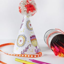 FREE Party Hat Printables