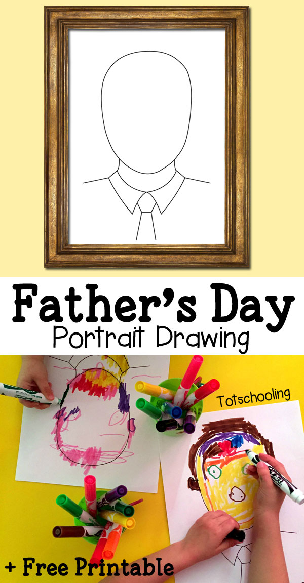 Free Father S Day Portrait Drawing Free Homeschool Deals
