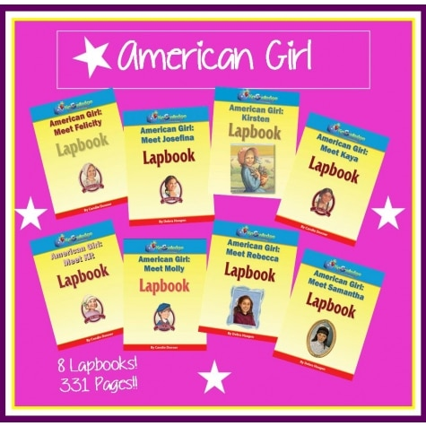 American Girl Lapbook Bundle Only $12.99 - 8 Total!