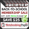 $25 Off Notebooking Pages Lifetime Membership - Limited Time!
