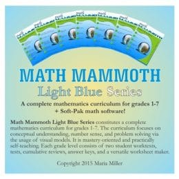 Complete Math Curriculum for Grades 1-7 Only $89.25! (Reg. $175!)