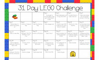 31 Day LEGO Challenge!