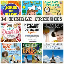 14 KINDLE FREEBIES: Pressure Cooker Cookbook, Over 500 Jokes For Kids + More!