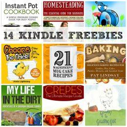 14 KINDLE FREEBIES: Instant Pot Cookbook, Homesteading + More!