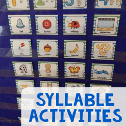 FREE Syllable Reading Activities and Clip Cards