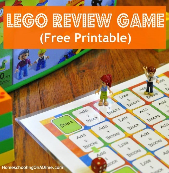 FREE Lego Review Game