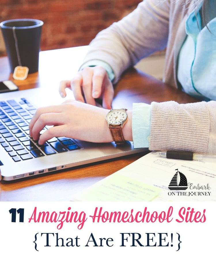 FREE Homeschool Sites