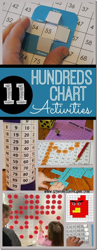 FREE Hundreds Chart Activites
