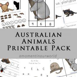 FREE Australian Animals Pack