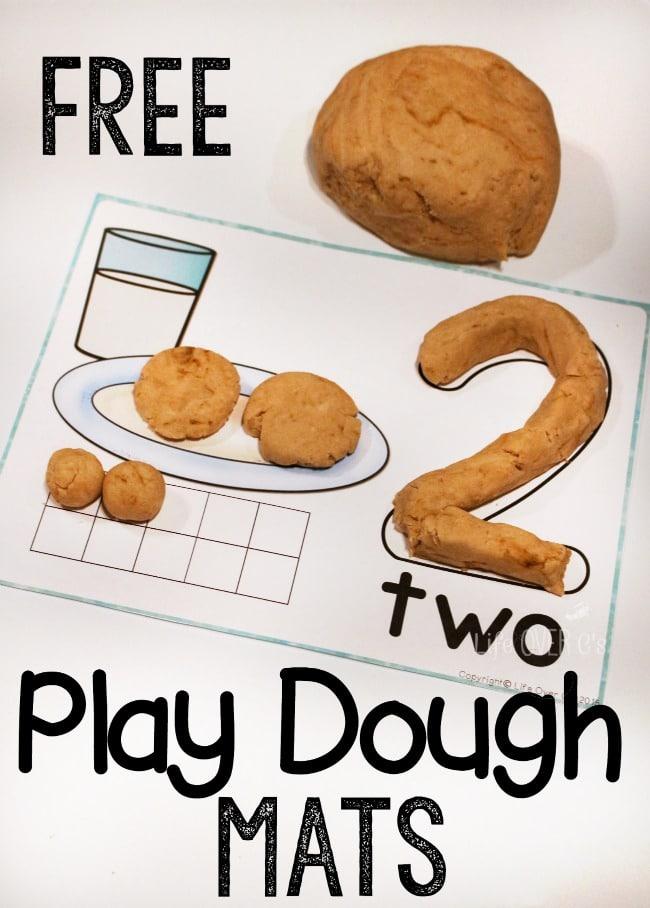 FREE Cookie Play Dough Mats : Free Homeschool Deals