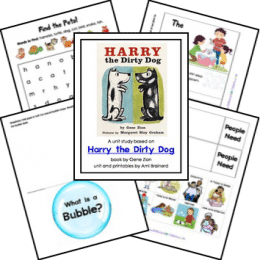 FREE Harry the Dirty Dog Lapbook