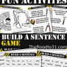 FREE Construction Build a Sentence Pack