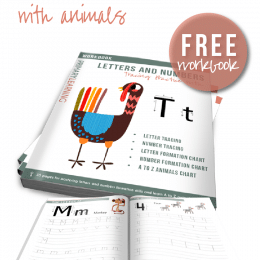 FREE Animal Alphabet Tracing Pages ($5 Value!)